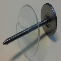 CEILING MARKERS - EQUIPMENT LOCATOR TACKS SERRATED WITH RETENTION DISK