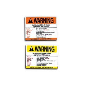 MS-900 Arc Flash Labels