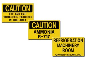 Auxiliary Door Signs