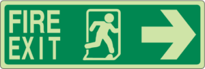 IMO Evacuation and Escape Signs