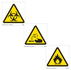 International Safety Warning Signs