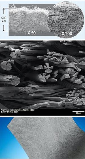 Evolon Acoustics - Microfilament Absorption Material