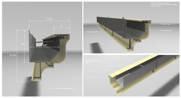 Designer Series Commercial Gutter Systems