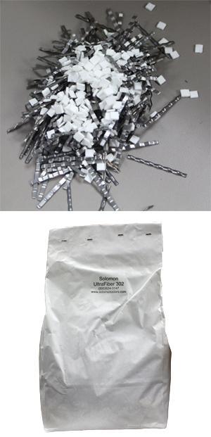 UltraFiber 302 Blend - Cellulose & Steel Fiber Secondary Reinforcement