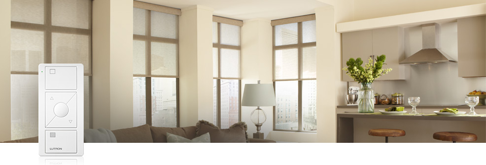 Serena® Remote Controlled Shades - Serena - CSPS-P1-1-6-WH