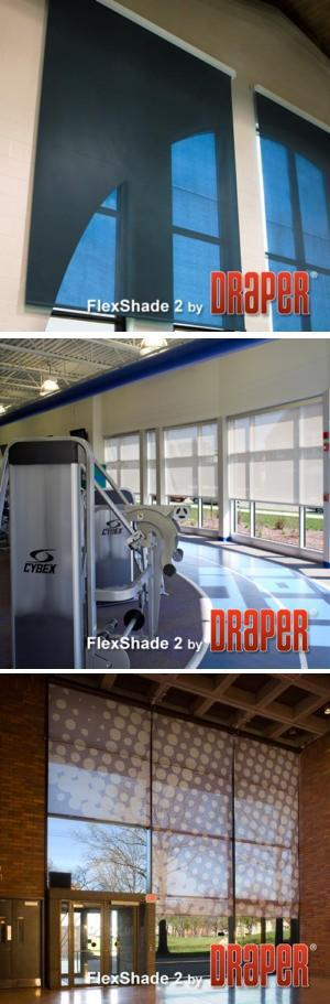 FlexShade 2 Motorized Window Shade