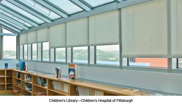 FlexShades for Healthcare Facilities