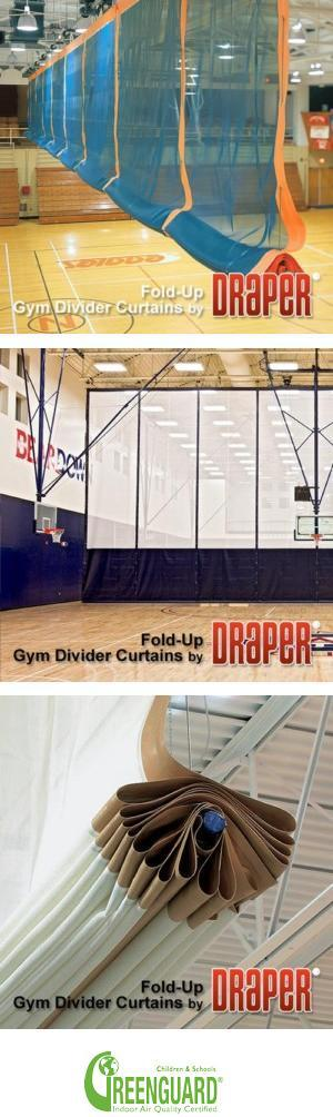Fold-Up Gym Dividers