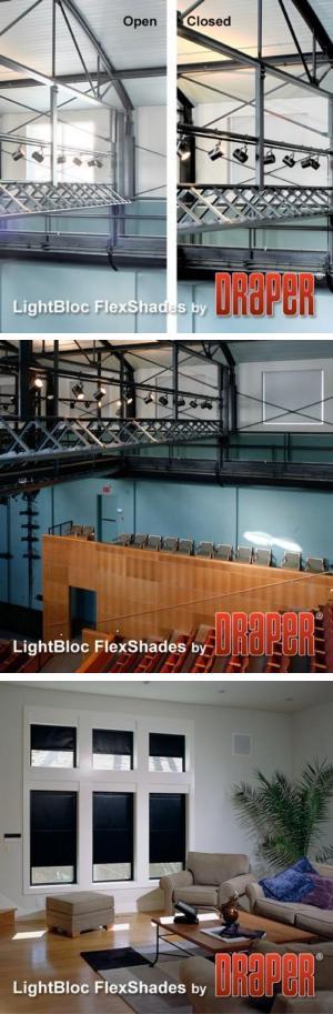 LightBloc Motorized FlexShade
