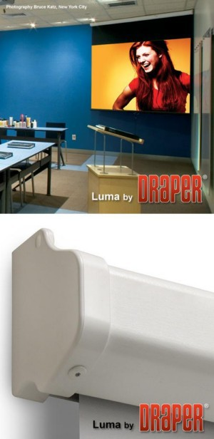 Luma with AutoReturn Projection Screen