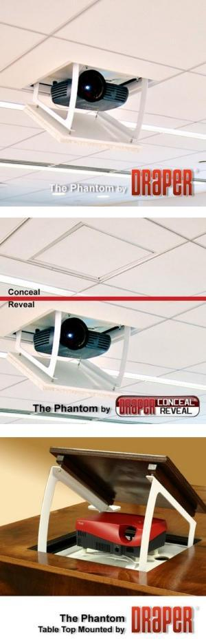 Phantom Recessed Projector Lift