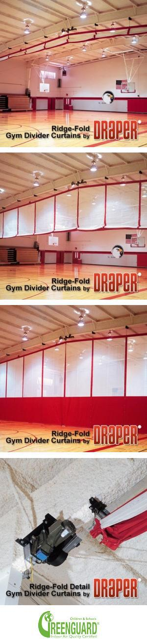 Ridge-Fold Gym Dividers