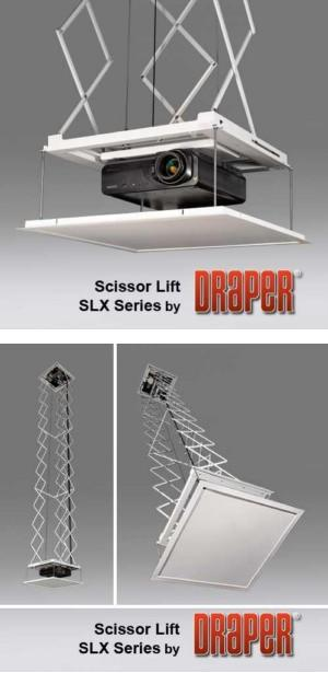 Scissor Lift SLX - Motorized Projector Lift