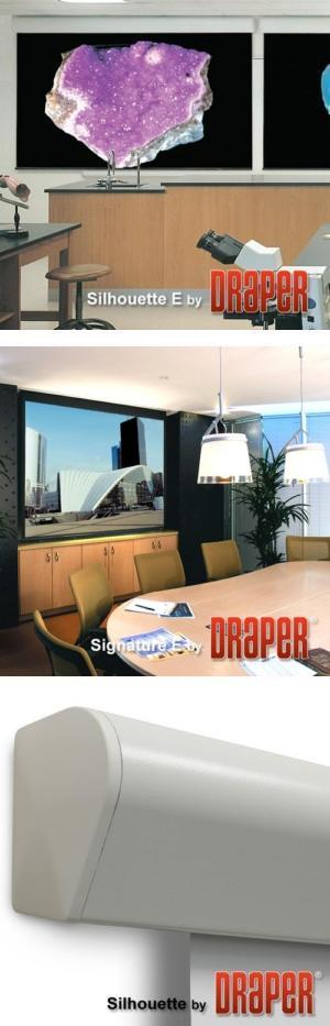 Silhouette/Series E Electric Projection Screen