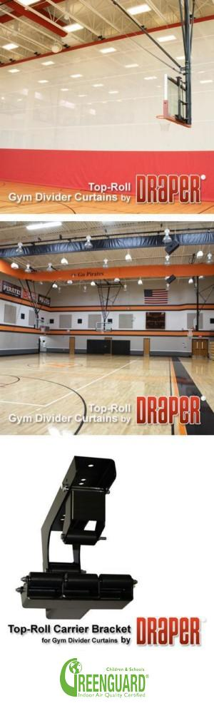 Top-Roll Gym Dividers
