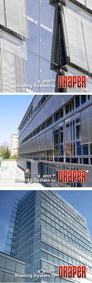 s_enn® Stainless Steel Exterior Shade System