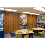 Won-Door Corporation - DuraSound™ Accordion Folding Partitions