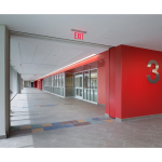 Won-Door Corporation - FireGuard™ Accordion Fire Doors with Flat Lead Post