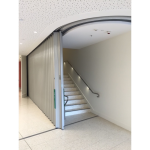 Won-Door Corporation - FireGuard™ Curved Accordion Fire Doors