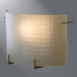 Eaton Lighting Solutions - H2521, H2525 Etching Portrait Rectangle Sconce - Wall Mount
