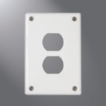 Eaton Lighting Solutions - SSB & SPC Cover Plates & Accessories - Wall Mount