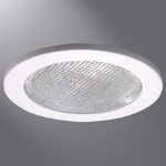 Eaton Lighting Solutions - Incandescent - 4 Inch E26 Screwbase Trims - 4055 Prismatic Glass Lens