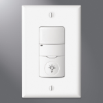 Eaton Lighting Solutions - NeoSwitch - PIR Wall Switch Sensor w/Night Light (Neutral Required)
