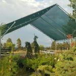 Hendee Enterprises Inc. - Canopy Style GroZone Module - Garden Shade Temporary Structures