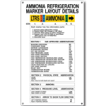 Marking Services, Inc. - Ammonia Information Signs MS-215