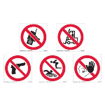 Marking Services, Inc. - International Safety Prohibition Pictograms