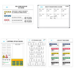 Marking Services, Inc. - Operations Boards / Signs / T-Card Box