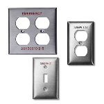 Marking Services, Inc. - Stainless Steel Switch Plates