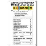 Marking Services, Inc. - MS-215 MAX-TEK Ammonia Information Signs