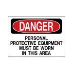 Marking Services, Inc. - Operational And Safety Signs - Personal Protect Equip