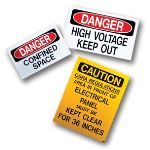 Marking Services, Inc. - MS-900 Self-Adhesive Safety Signs