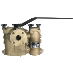 Mueller Steam Specialty - 792FB - Class 150 Ball-Plex™ Aluminum Bronze Flanged End Duplex Strainers