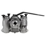 Mueller Steam Specialty - 792MFH - Class 150 Ball-Plex™ Stainless Steel Flanged End Duplex Strainers
