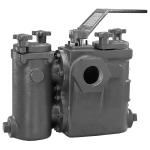Mueller Steam Specialty - 792SD - Class 150 Ball-Plex™ Carbon Steel Screwed End Duplex Strainers