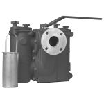 Mueller Steam Specialty - 794FB - Class 300 Ball-Plex™ Aluminum Bronze Flanged End Duplex Strainers