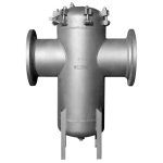 Mueller Steam Specialty - 185FAB-Q - Class 150 Fabricated Flanged End Basket Strainers