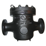 Mueller Steam Specialty - 595 - Class 125 U.L. Listed Cast Iron Flanged End Basket Strainers for Firelines