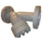 Mueller Steam Specialty - 767 - Class 2500 Cast Carbon Steel or Alloy Steel Flanged End Y Strainers