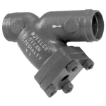 Mueller Steam Specialty - 782-WE - Class 300 Cast Carbon Steel or Alloy Steel Butt Weld End Y Strainers