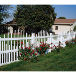 Country Estate Fence, Deck and Railing - Dalton - Picket Style Vinyl Fencing
