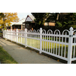 Country Estate Fence, Deck and Railing - Exeter - Picket Style Vinyl Fencing