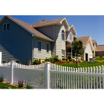 Country Estate Fence, Deck and Railing - Hampton - Picket Style Vinyl Fencing