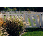 Country Estate Fence, Deck and Railing - Malibu - Picket Style Vinyl Fencing