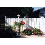 Country Estate Fence, Deck and Railing - Denver- Privacy Style Vinyl Fencing