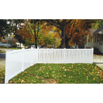 Country Estate Fence, Deck and Railing - Rochester- Semi-Privacy Style Vinyl Fencing