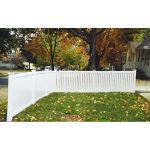 Country Estate Fence, Deck and Railing - Rochester - Semi-Privacy Style Vinyl Fencing